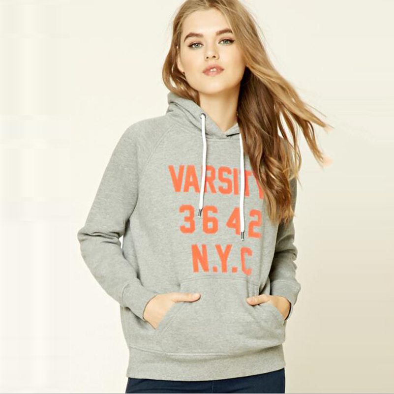Aliexpress.com : Buy Ladies Letter Print Oversized Sweatshirts ...