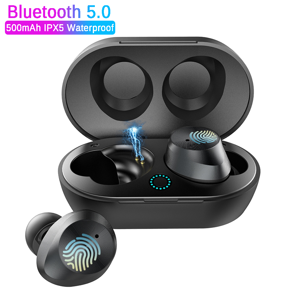 Sport Bluetooth V5.0 Q3 son basse stéréo Bluetooth écouteur sans fil mains libres avec micro pour iphone xiaomi huawei tous les Smart phone