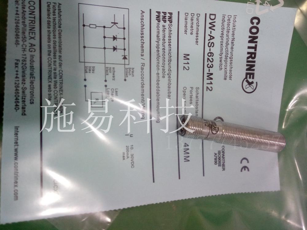 все цены на Free shipping 1pcs The new contrinex DW-AS-623-M12 year warranty онлайн