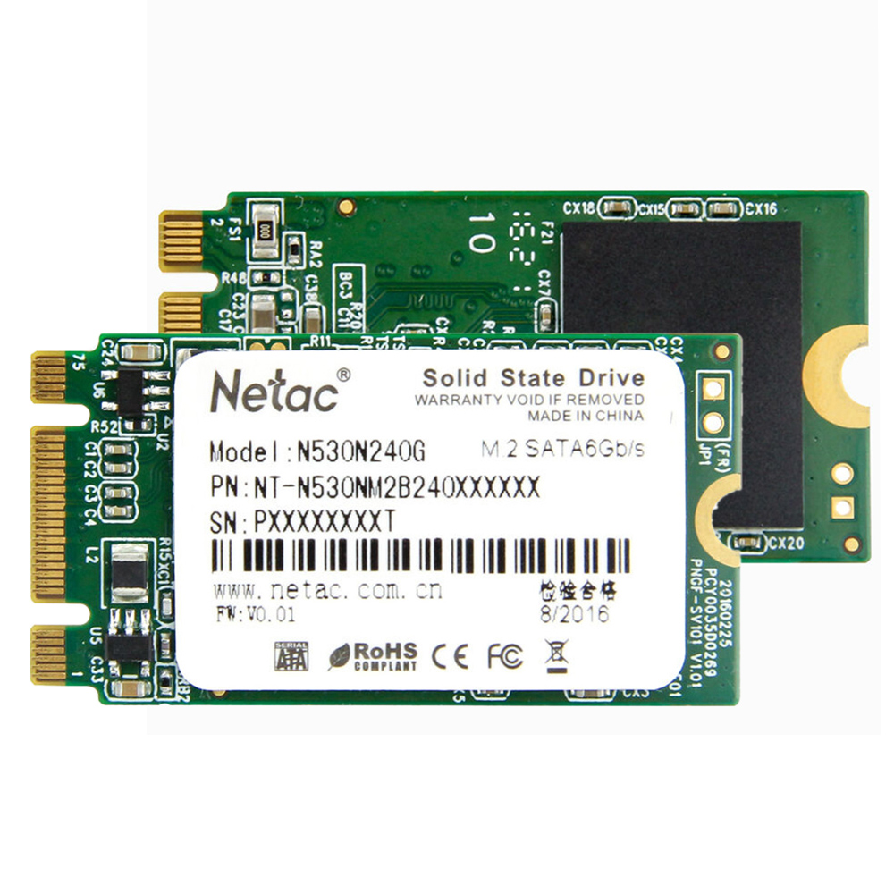 Netac N530N 240GB SSD NGFF(M.2) Internal Solid State Drive Hard Disk Digital Flash SATAIII 6Gbp/s TLC SSD for Laptop Desktop high quality adata ssd 240gb sp580 solid state drive solid hard disk hd hard drive disk sata3 hdd ssd disk for laptop desktop