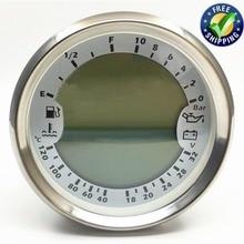 1 шт. 6 в 1 многофункциональные измерительные приборы 18-32 в вольтметр спидометры GPS 85 мм Tach 0-10Bar машинное масло Prssure счетчики с подсветкой