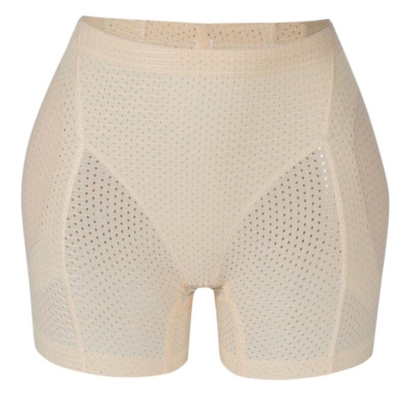 HIOFFER Briefs Butt Lifter Boy Shorts Shapewear Butt Hip Enhancer Pad Control Panties