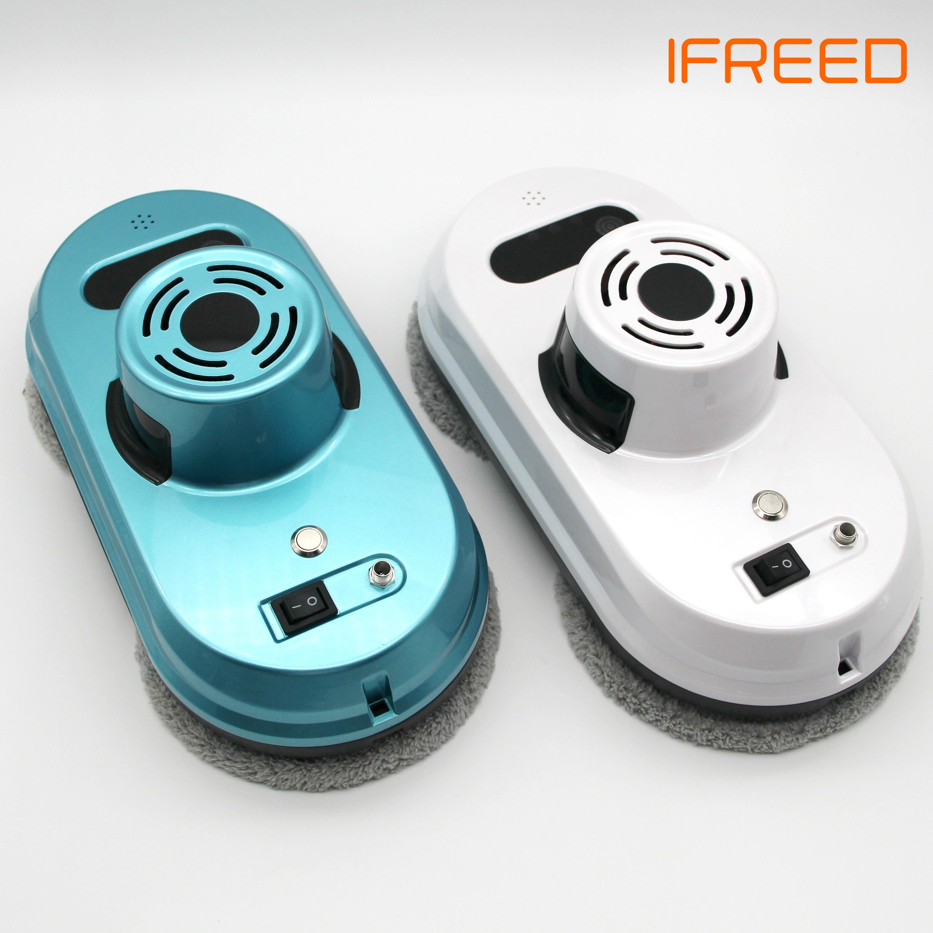 2019 Novos Modelos de Robô Aspirador de pó Robô De Limpeza De Janelas de Vidro Limpo Máquina De Lavar Vidro UE Adaptador Russa de Limpeza