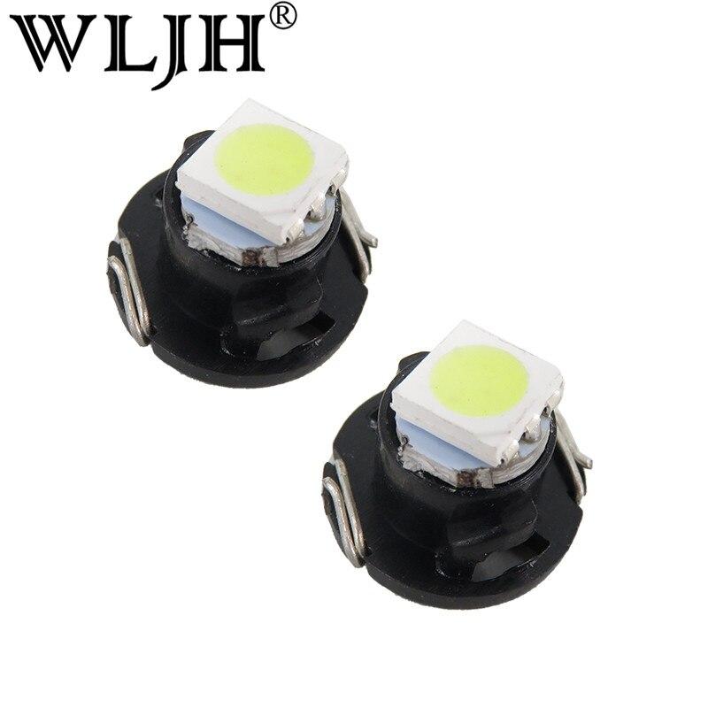 Partsam 10pcs White T4.7//T5 Neo Wedge Heater A//C Controls LED Light 5050-SMD 12V 12mm Lamp