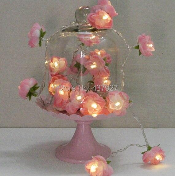 New 20 led aa battery flower fairy lights for romantic outdoor 20 led aa battery flower fairy lights for romantic outdoor birthday partywedding mightylinksfo