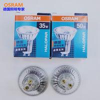 OSRAM 230V50W 230v35w 35D GU10 FLOOD halogeenlamp, 64828FL 64821FL PAR16 ALU reflector dimbare lamp