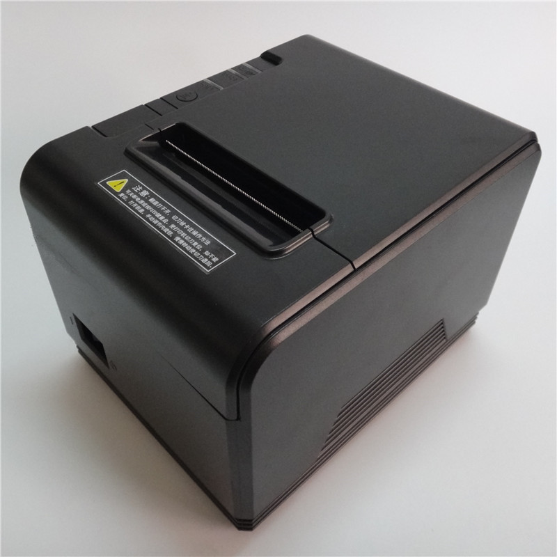 wholesale 80mm thermal printer High quality receipt Small ticket barcode POS printer Appearance fashion have Automatic cutter компьютер lenovo thinkcentre m710e intel core i5 7400 ddr4 4гб 1000гб intel hd graphics 630 dvd rw cr noos черный [10ur003vru]