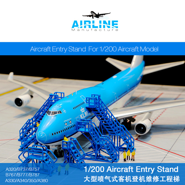 1 200 Airport Facilities Annex Model Ground Subway Large Passenger Boarding Ladder Maintenance Works