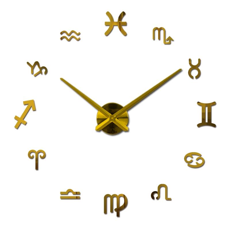 nové nástěnné hodiny diy hodiny reloj de pared quartz hodinky evropa obývací pokoj velký dekorativní horloge murale hodinky samolepky