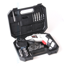 45pcs household 4.8V rechargeable Ni-Cd battery cordless screwdriver electric drill power tool