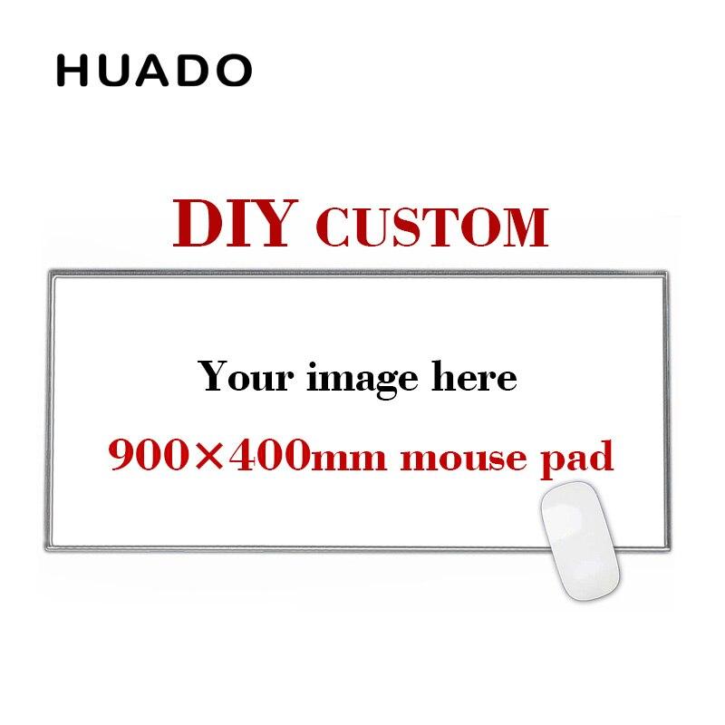 900*400mm DIY Custom Gummi Gaming Maus Pad Matte Laptop Tastatur Matte XL für overwatch/cs gehen /welt von warcraft