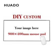 900*400mm DIY özel kauçuk oyun Mouse Pad Mat dizüstü klavye matı XL overwatch/cs gitmek/world of warcraft