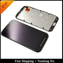 تتبع رقم 100% اختبار ل Moto E LCD XT1021 XT1022 XT1025 شاشة عرض LCD مجموعة رقمنة اللمس