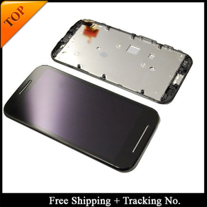 Image 1 - Tracking No. 100% tested For Moto E LCD XT1021 XT1022 XT1025 Display LCD Screen Touch Digitizer Assembly
