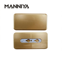 MANNIYA 3D Sublimation metal mould tool for iphone X XS XR XS Max 5S SE 6 6 plus 7 8 7plus 8plus 2 in 1 cases