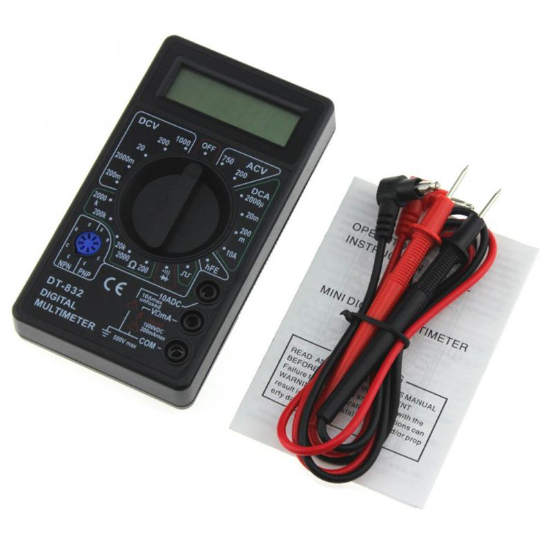 Professional LCD Digital Multimeter VoltMeter Ammeter AC DC OHM Tester new