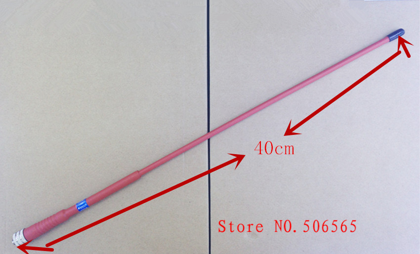 KINNOTA Red color high gain antenna UHF 400 470mhz SMA Feamle for KENWOOD BAOFENG PUXING Weierwei