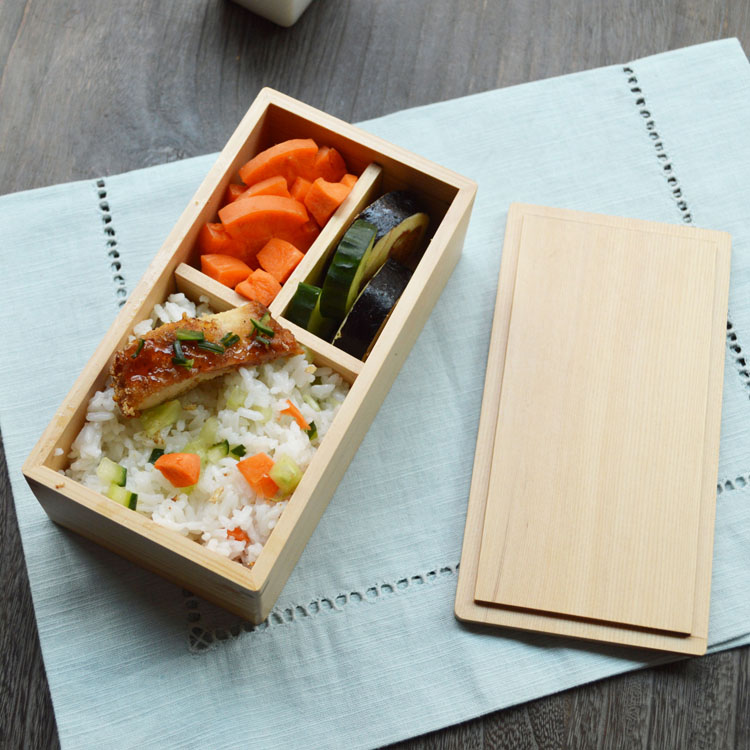 Japanese wooden lunch box for kids handmade lunch boxes for Decor 6 piece lunchbox