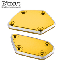 BJMOTO Motorcycle Accessories For BMW R1200GS LC Adventure R 1200RT LC R-NINET Front Brake Clutch Fluid Reservoir Cover Caps for bmw r 1200gs r 1200gs adventure r 1200r r 1200s r 1200st front brake clutch reservoir cover
