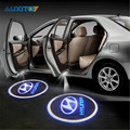 LED Car Logo Laser Projector Light for Hyundai Accent IX35 Solaris Elantra I30 Santa fe Getz Tiburon Atos Tucson I20 I30 I35 I40
