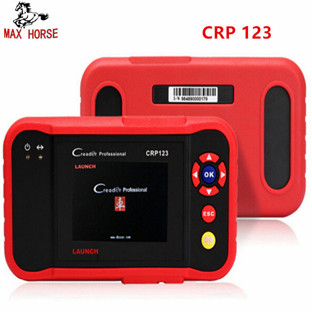 Best Price Launch X431 CRP123 obd2 code reader Scanner test Engine/ABS/SRS/AT X-431 CRP 123 Auto Diagnostic Tool free update creader vii+