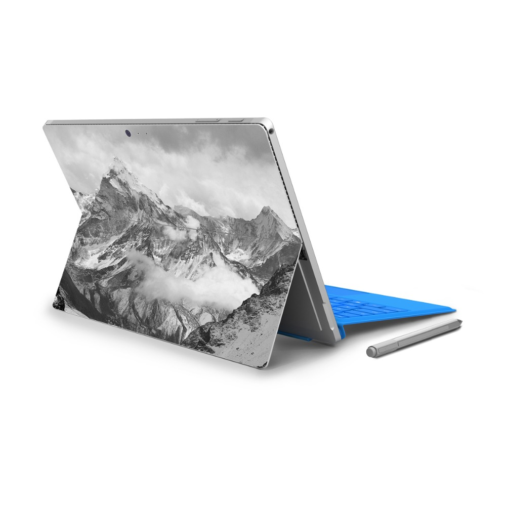 YCSTICKER - For Surface Pro 4 Vinyl Back Full Decal Tablet Painting Sticker Landscape Sk ...