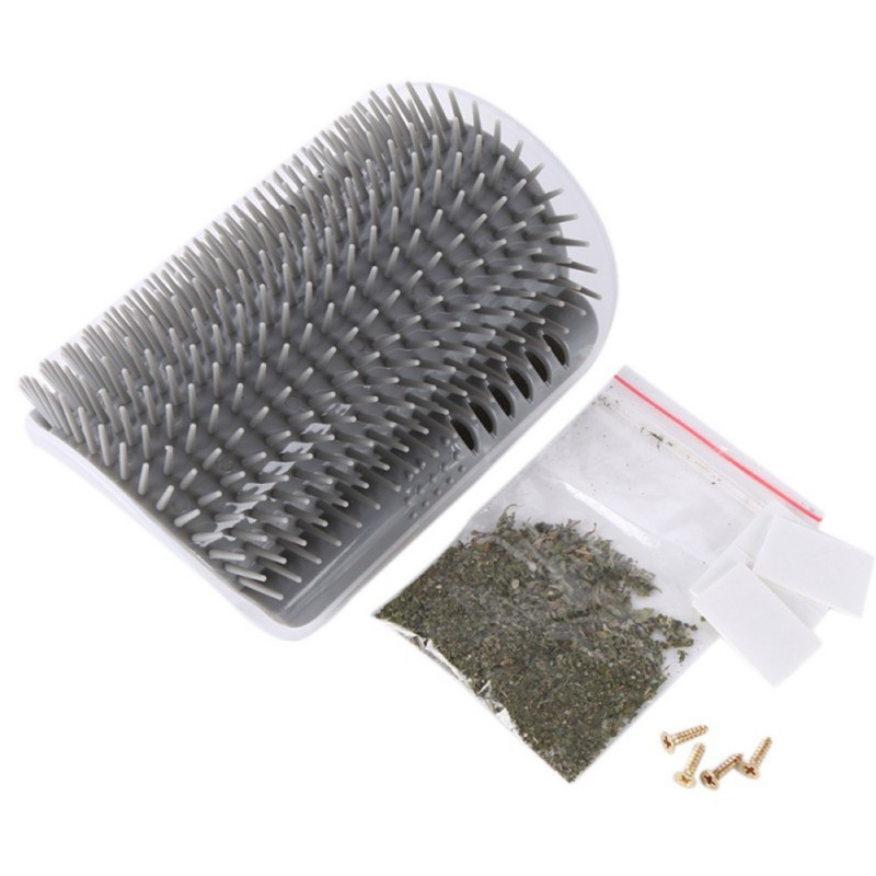 Pet Comb Removable Cat Corner Scratching Rubbing Brush Pet Hair Removal Massage Comb Pet Grooming Cleaning Supplies Z