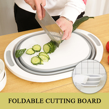 Kitchen Chopping Blocks Foldable Cutting Board Kitchen Silicone Cutting Boards Classification Chopping Board Washing Basin square chopping board