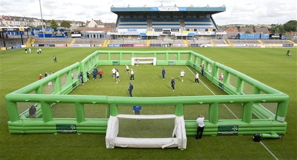 Inflatable Soccer Field, inflatable games,inflatable pitch Inflatable Football Field