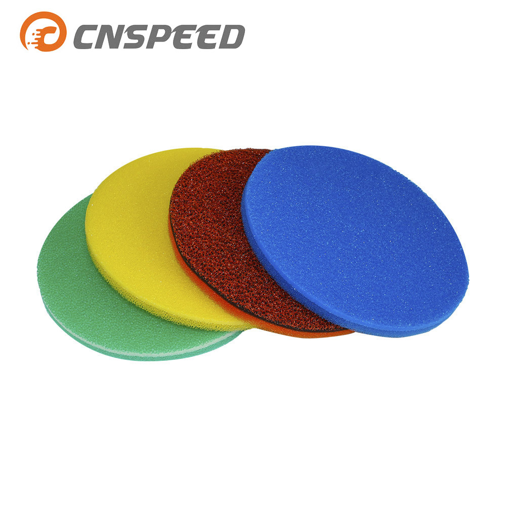 CNSPEED Air Filter Foam  250mm  3 Layer Air Filter Sponge Element Suitable Mushroom Air Filter CleanerYC100485