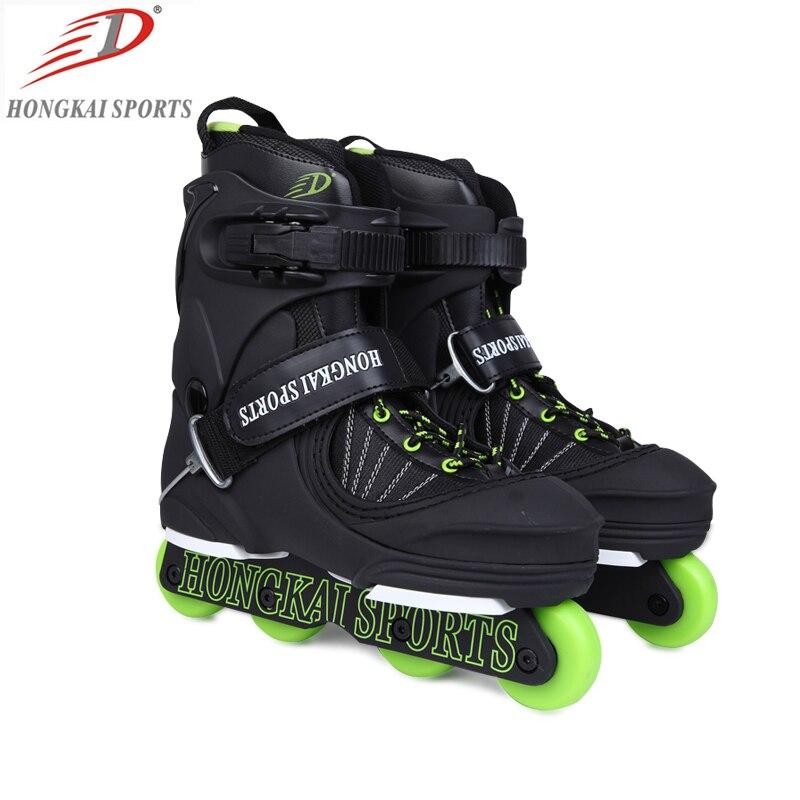 free shipping aggressive skates shoes HK sports wheel 58mm 90A free shipping skates bag 48 33 16cm 45 liters