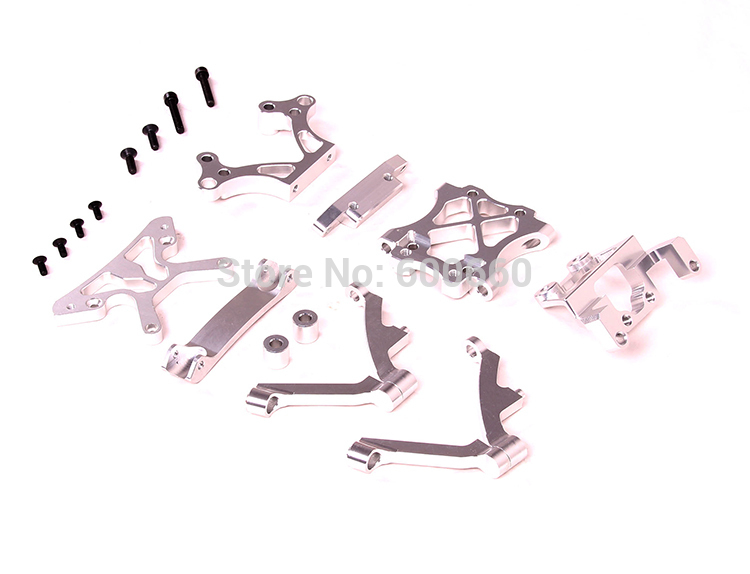 Alloy Front Head shock tower arm set set for baja 5B HPI KM Rovan free shipping