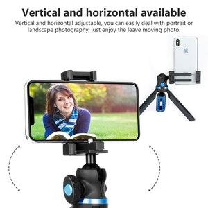 Image 3 - APEXEL 2 en 1 support de téléphone trépied DSLR caméra téléphone extensible trépied pour Gopro xiaomi iPhone Smartphone