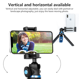 Image 3 - APEXEL 2 in 1 Phone Holder Mount Tripod DSLR Camera Phone Extendable Tripod For Gopro xiaomi iPhone Smartphone