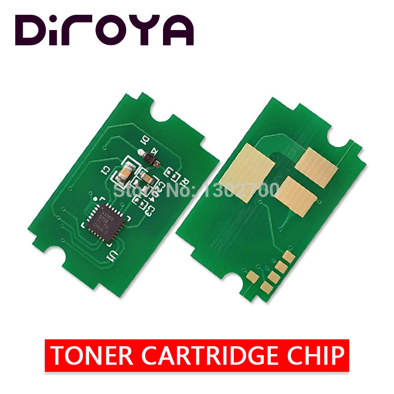 PK 5015 PK5015 P-5015 K CMY toner cartridge chip for Utax P-C2650DW P-C2655w P C2650DW C2655w P-C2650 P-C2655 color powder reset