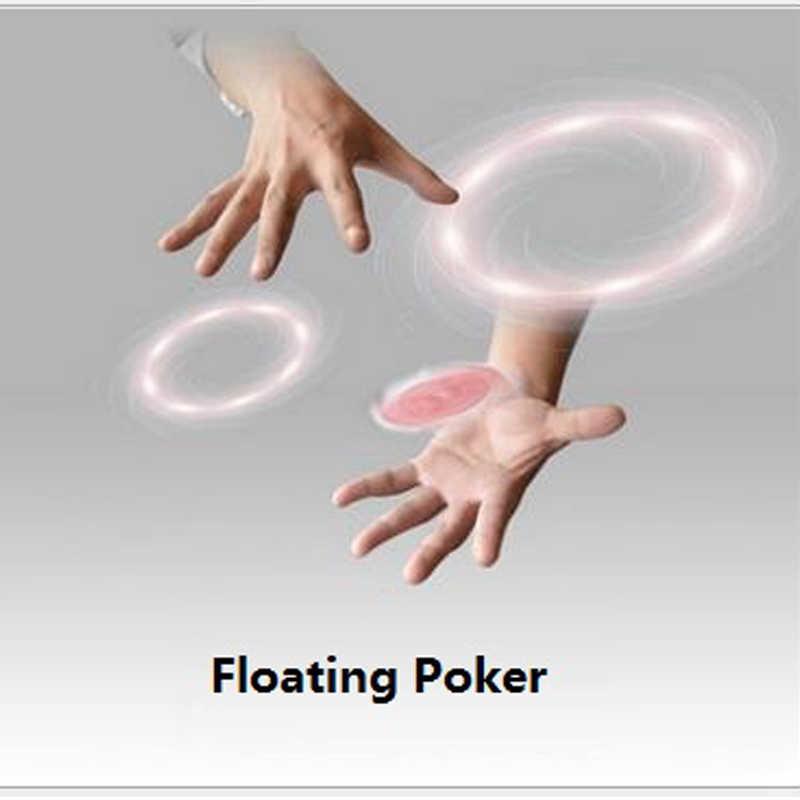 1 Pcs Magia di Galleggiamento Flying Carte Trucchi di Magia Close-Up Carta Rotante Giocattoli per I Bambini Profesional Puntelli Magici