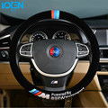 2017 плюша Высокого качества для BMW стиль Авто крышка рулевого колеса для bmw e46 e36 audi toyota ford vw Chevrolet kia Автомобиля укладки