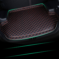 High Side Custom No Odor Waterproof Non Slip Boot Carpet Car Trunk Mat for Peugeot 307 301 208 308 508 207