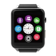 Aiovcocie Inteligente Bluetooth Reloj smartwatch Impermeable Del Ritmo Cardíaco Monitor de Sueño Apoyo TF/Tarjeta SIM para IOS Android Hombres Mujer