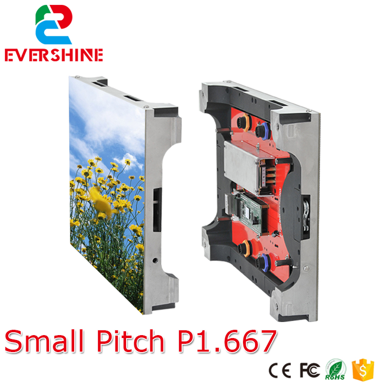 Ultra high definition small pixel pitch P1.667 indoor full color video led display screen for advertising meeting,stage,malls
