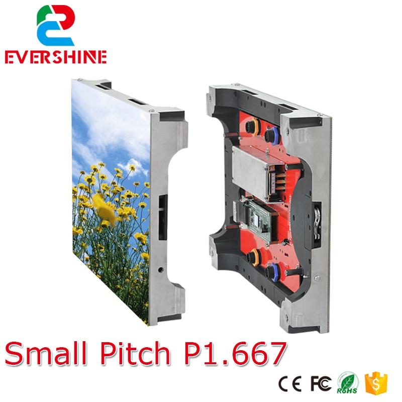 Rendkívül nagyfelbontású kis pixel hangmagasságú P1.667 - LED Világítás