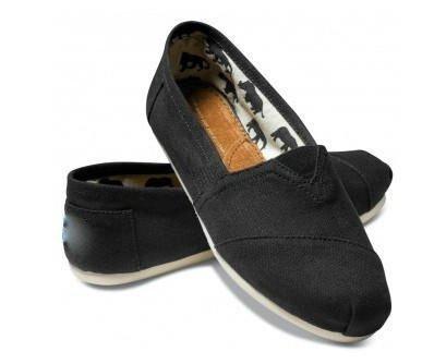 9a671cb8e2cc e- 09 free shipping ! cheap shoes online Black Canvas Women s Classics