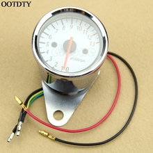 Universal Mechanica 13000RPM Scooter Analog Tachometer Gauge For Motorcycle Drop shipping