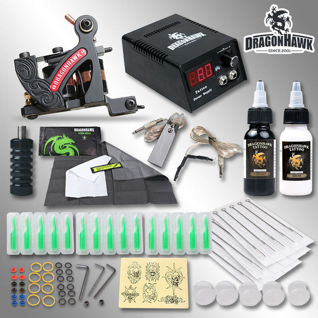 Kit Machine A Tatouer Professionnel professionnel corps artiste doublure de tatouage kit machine set