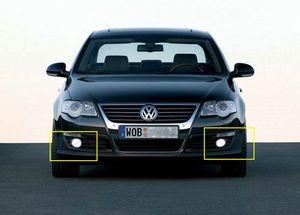 Image 5 - ANGRONG 45W מעודכן לבן LED פגוש קדמי ערפל אור מנורה עבור פולקסווגן פאסאט 3C B6 06 10 L & R