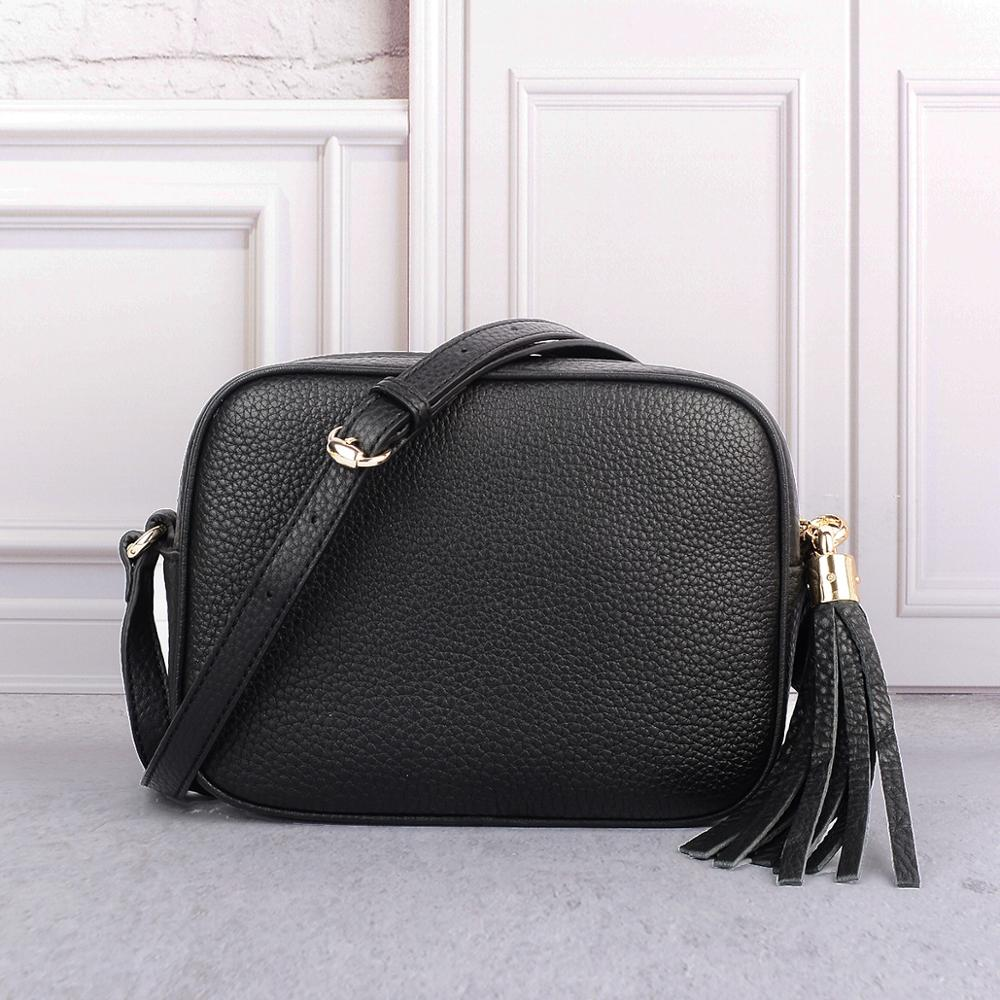 Женские кожаные сумки роскошные дизайнерские брендовые сумки SOHO Disco мини Crossbody сумки наивысшего качества натуральная кожа сумка