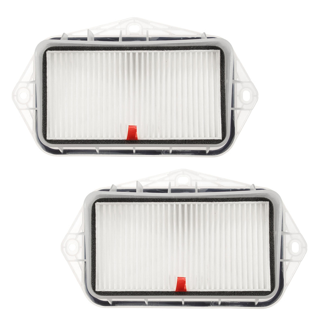 Par 3 Furos Branco Cabine filtro de Ar para VW Sagitar/CC/Passat/Magotan/Golf/Tiguan/Jetta/Touran