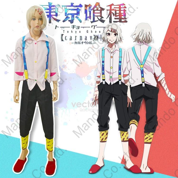 Токио вурдалак Juzo Джузо/Рей угол аниме Косплэй костюм японский вампира на Хэллоуин костюм 6 шт. комплект