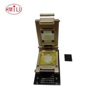 EMCP221 Тесты разъем с интерфейсом SD Pogo Pin Nand flash reader для BGA 221, применяются к eMCP 11,5x13 мм Шаг 0,5 мм адаптер
