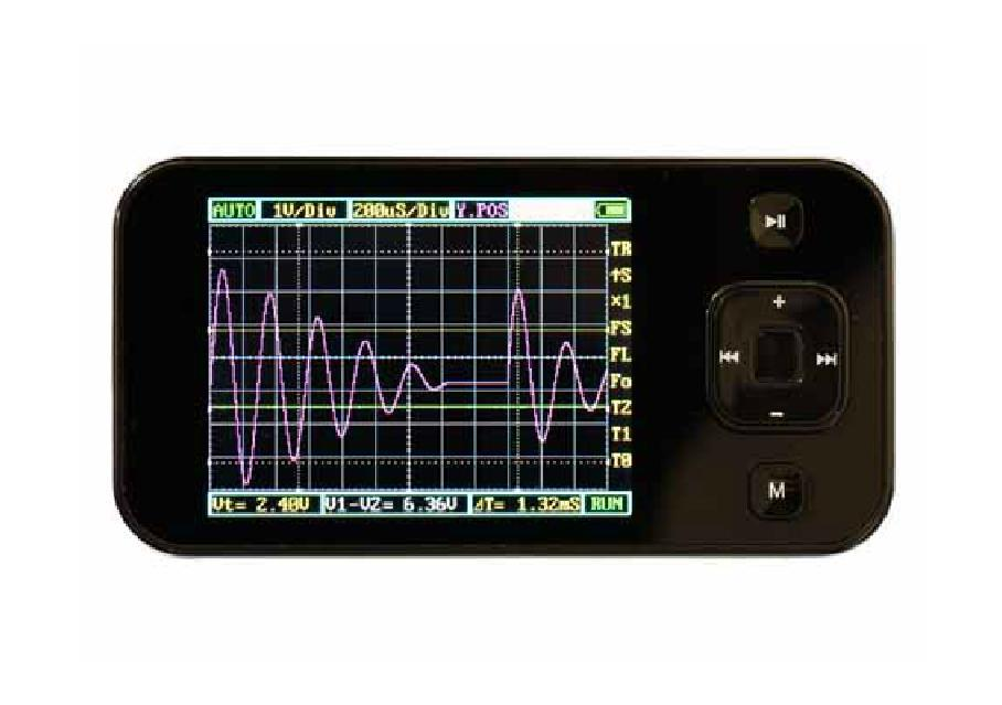 hitachi oscilloscope. pocket oscilloscope victor 101 handheld vc101 scopemeters 200khz hitachi